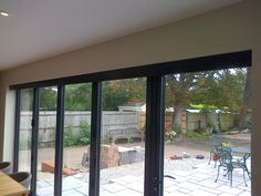 Blinds concealed by a matching pelmet