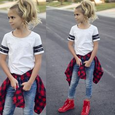 """Style defined @noramadisondesigns @weresofancyblog"" Little Girl Fashion, Little Girl Style, Girls Fashion Kids, Teen Style, Preteen Fashion, Teen School Fashion, Casual Teen Outfits, Comfy School Outfits, Kid Outfits"