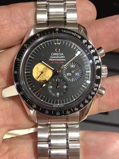 Platinum Speedmaster Professional Apollo XI 40th Anniversary