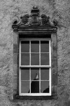 Argyle's Window (B&W)