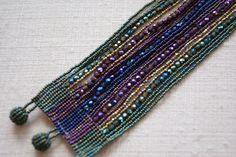 beaded bracelets | Beaded Bracelets by the Huicholes of Mexico