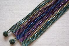 beaded bracelets | Beaded Bracelets by the Huicholes of Mexico