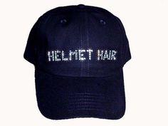 Helmet Hair - I need this!!