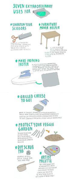 7 Extraordinary Uses for Aluminum Foil