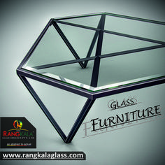 customize glass furniture made with rangkala glass design. we provide various designs.