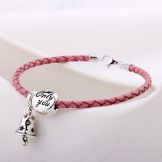323b618e2e9b Amazon.com  T400 Jewelers Genuine Leather Charms Bracelets Bangle