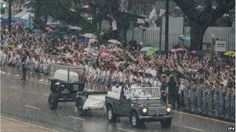 Funeral procession in Singapore