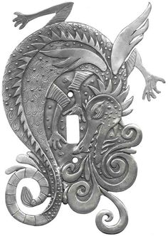 Dragon Fire Light Switch Plates, Outlet Covers, Wallplates