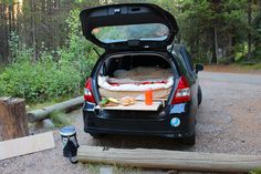 Turning my Fit into a mobile camper! - Unofficial Honda FIT Forums car camping