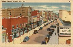 Fraley Street, Kane  Pennsylvania
