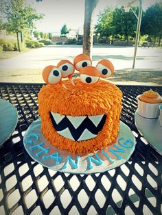 monster cake idea