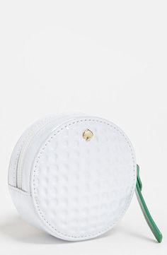 Adorable: Kate Spade golf ball coin purse.
