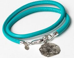 Armband aus Nappaleder und Sterlingsilber. FS2015.
