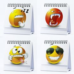 Office Gifts - 29 Emoji Faces - Best Office Gift for Coworkers, Cubicle Accessories, Boss, Business Gifts, Gag Gifts & Office Desk Toys - Hilarious & Funny - 29 Different Emoji Icons.