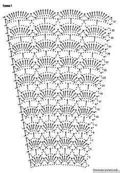 ideas dress skirt charts – Crochet Pattern and ideas Crochet Skirt Pattern, Crochet Skirts, Crochet Fabric, Crochet Motif, Crochet Designs, Crochet Clothes, Crochet Baby, Crochet Patterns, Crochet Summer