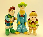 Tree Tom Fu Cake Toppers available from www.preparedwithlove.co.uk click here to see more toppers