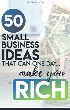 50 practical small business ideas that have the potential to one day make you rich. Small Business Ideas | Small Business Ideas for Women |Online Business Ideas | Online Business Tips | business ideas for teens | business ideas start up | business ideas entrepreneur| Online Business