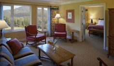 Fairmont Chateau Whistler Luxury One Bedroom Mountain View Suite