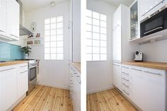 No windows in the kitchen? Create light with these!