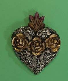 Image detail for -Chula, Mexican folk art, dia de los muertos, sacred hearts, mexican ...