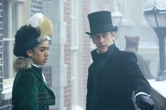 Doctor Who series 10, episode 3 pictures show the Doctor and Bill up against an underwater menace  - DigitalSpy.com