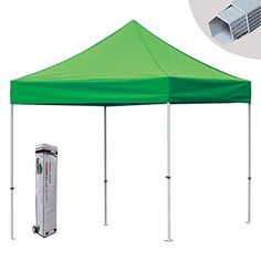 Eurmax Canopy Premium Display Shade Kit Commercial Canopy Pop up Tent with Roller Bag Kelly Green  sc 1 st  Pinterest & Ace Diamond Enclosed Pop Up Tent Package 8u0027x8u0027 - SUPER SALE! The ...