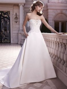 Casablanca Wedding Dresses - Style 2130