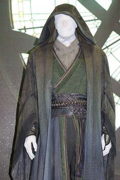 Doctor Strange Costumes On Display At Marvel's Comic-Con Stage