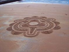 Beautiful sand art!