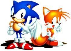 I never knew tails actually has 2 tails!!!