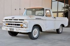 A Beautiful Body: 1961 Ford F-100 Unibody - http://barnfinds.com/a-beautiful-body-1961-ford-f-100-unibody/
