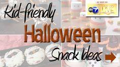Halloween Snack Ideas for Kids #halloween #ideas #snacks