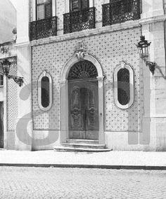 Palácio do Conde da Belavista, porta de entrada 1959 PT/AMLSB/SER/I00811