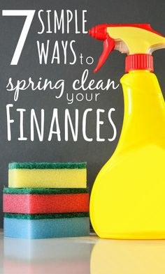 You can spring clean your finances at any point but, with the new financial year upon us, now is a better time than ever to get those finances in order.