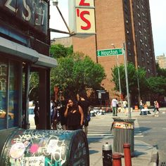 Adam Wade Storyteller — Outside Katz's #nyc #ludlow #houston