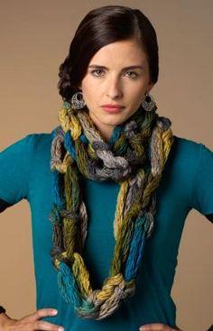 Hand-Crochet Cowl