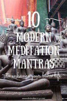 10 Modern Meditation