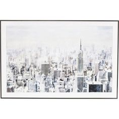Dans Un Style Resolument Vintage Le Tableau Frame Big Apple One Habillera Les Murs De Votre Salon Avec Elegance Et Glamour Mis Sous Verre Encadre Par