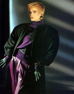 Claude Montana, American Vogue, September 1984.