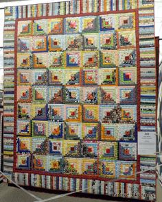 I love this take on a log cabin quilt | Quilts | Pinterest | Log ... : quilt quilt quilt - Adamdwight.com