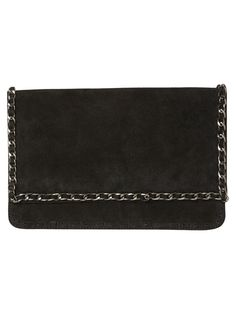 Leather clutch from VERO MODA! The must have party accessory.