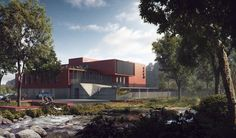 CGarchitect - Professional 3D Architectural Visualization User Community | B&TB + OECO Architectes Little Riding Red Hood