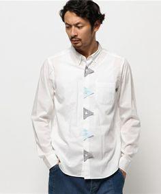 FRAPBOIS(フラボア)のガーランドシャツ(シャツ/ブラウス)|ホワイト
