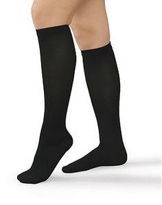 Women's Ribbed Trouser Support Socks...