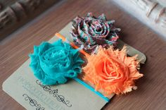 Summer Splash of Bright Colors. Shabby chic headbands for girls Shabby Chic Headbands, Kids Headbands, Headbands For Women, Newborn Headbands, Flower Headbands, Headband Baby, Hopscotch, Diy Hair Accessories, Diy Hairstyles