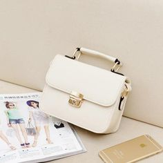 Classic Design Candy Color Casual Shoulder Bags