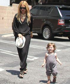 Rachel Zoe and little Skyler