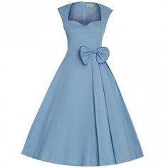 'Grace' Powder Blue Party Dress