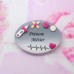 badge infirmière, aide soignante,puéricultrice : Pins, badges par grain-de-delice