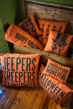 Halloween Pillows to trick out your home